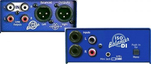 ISO Balancer :  2xphono ins/2xXLR outs