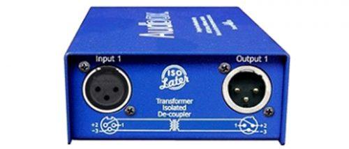 Iso Later :  1 ch transformer de-coupler