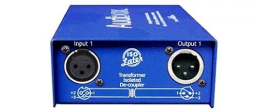 Iso Later Duo :  2 ch transformer de-coupler